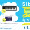 Sibelius 夏得キャンペーン 2018